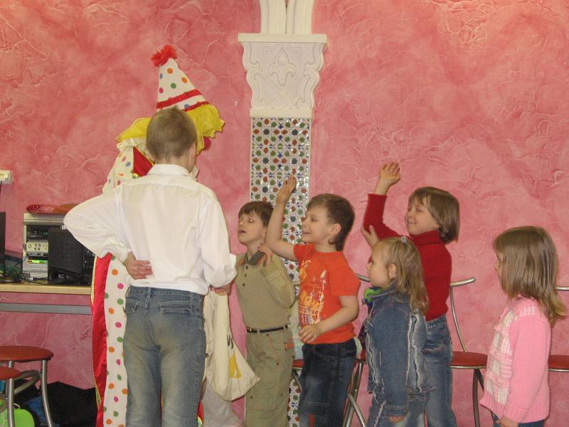 Детские праздники клоун кукольный